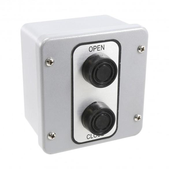 NEMA 4 Exterior Two Button Control Station Surface Mount - MMTC 2BX