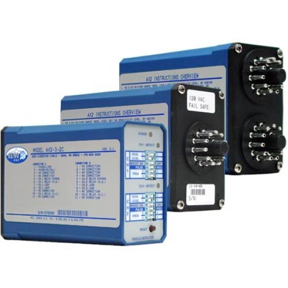 Reno A&E AX2-2C Series Dual Connector Vehicle Loop Detector - AX2-4-2C