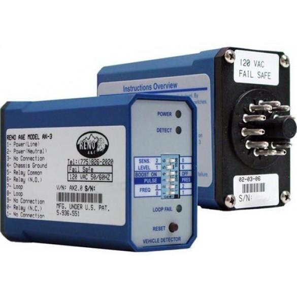Reno A&E AX Series Single Channel Vehicle Loop Detector - AX-3-S