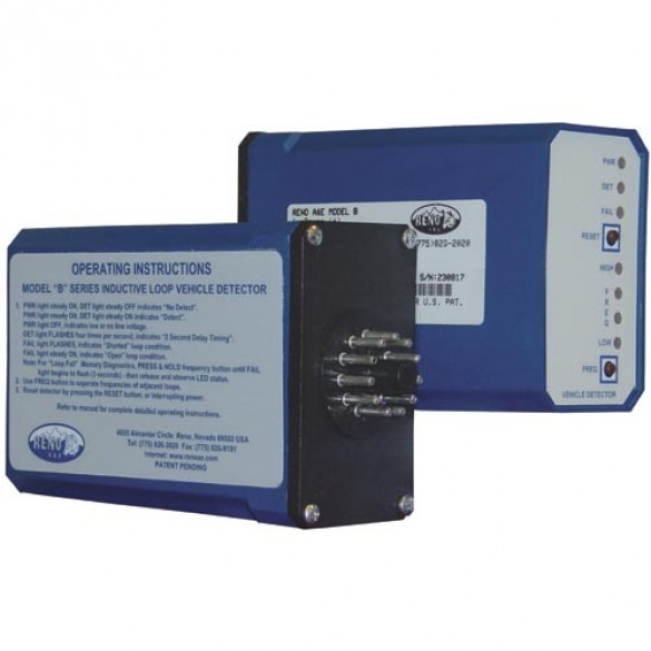 Reno A&E B Series Single Channel Vehicle Loop Detector - B-3-DP-S - 11 Pin