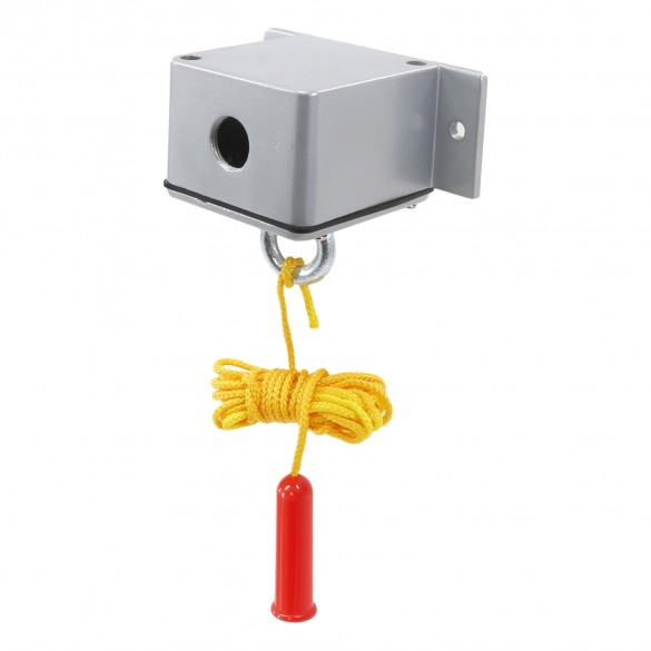 Exterior Ceiling Pull Switch (16 ft. Rope Length) with Heater - MMTC CPM-1H