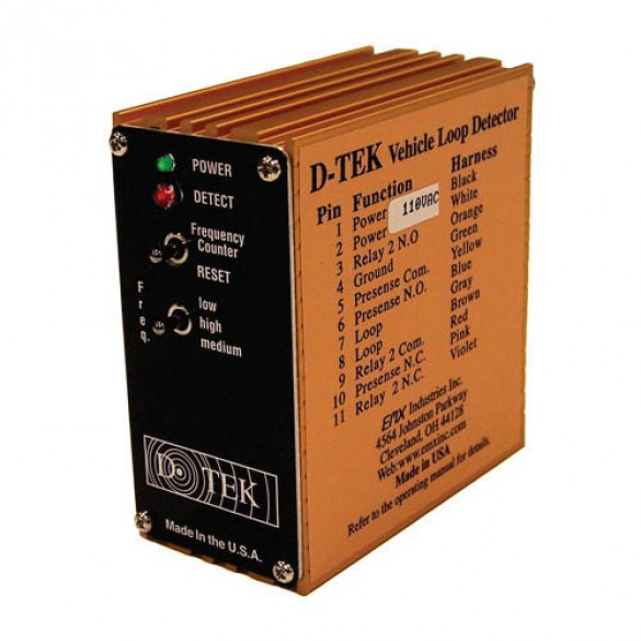 D-TEK-BOX Vehicle Loop Detector (Box Only) 24VDC