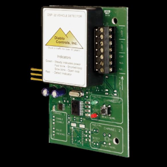 Diablo Dual Single Channel Plug-In Vehicle Detector (12-30V DC) - DSP-22-1