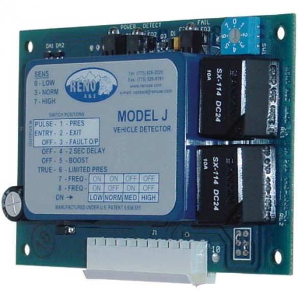Reno A&E J Series Card Type Loop Detector J-12-M-S