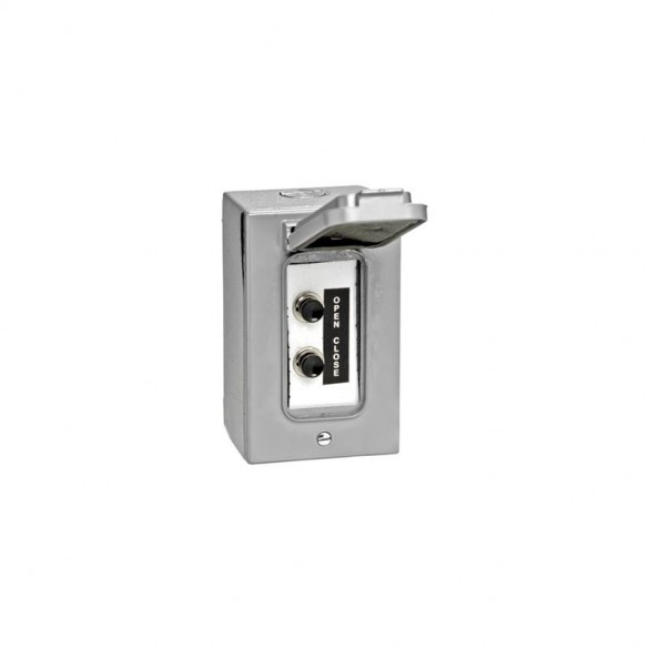 NEMA 4 Exterior Two Button Control w/ Weatherproof Cover - MMTC 2BXC