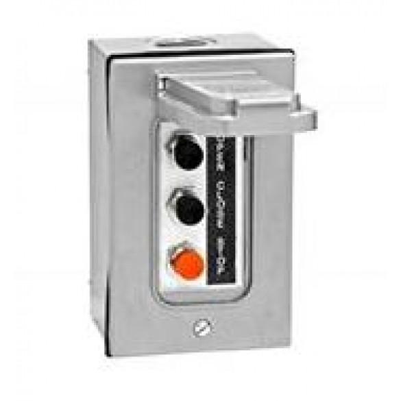 NEMA 4 Exterior Three Button Control w/ Weatherproof Cover - MMTC 3BXC
