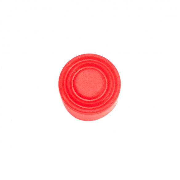 Replacement Rubber Cover for Push Buttons (Red) - MMTC RB-1