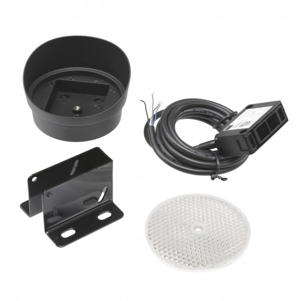 Safety Retro-Reflective Photo Eye w/ Hood Kit (33ft)