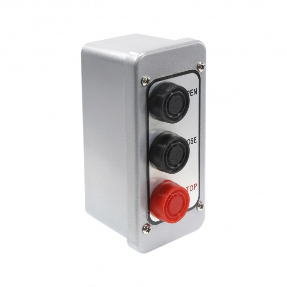 NEMA 4 Exterior Three Button Control Station Surface Mount - MMTC PBT-3
