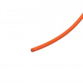 Reno A&E Single Conductor, Single Jacketed Loop Wire (Per Foot - Orange) - LW-116-P-O