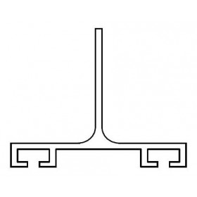 Miller Edge ME123-C1 Mounting Channel (Per Foot)