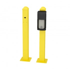 "OPTEX 23"" Mini Post for Curb Mounting OVS Series (Yellow) - OVS-MPYCURB"