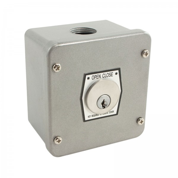 Exterior Surface Mount Keyswitch w/ Mortise Cylinder - MMTC 1KX