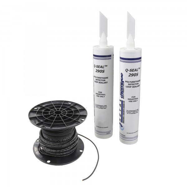 Linear Loop Wire Kit With Two Tubes Of Sealant (200' Of Wire) - 2510-222