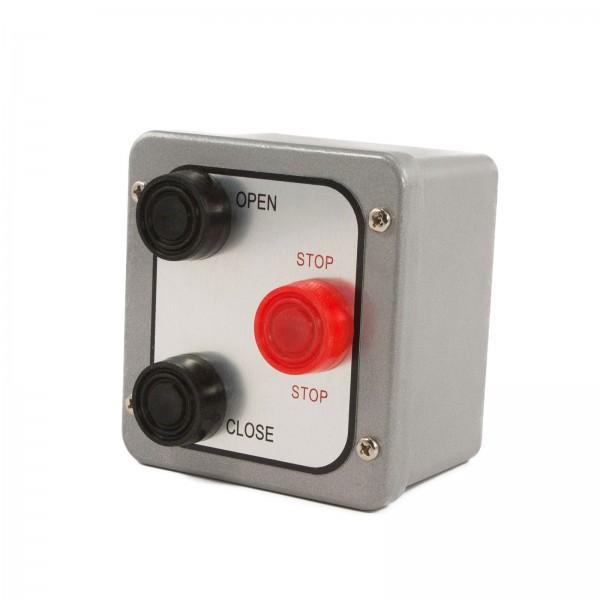 NEMA 4 Three Button Exterior Control Station Surface Mount - MMTC 3BX