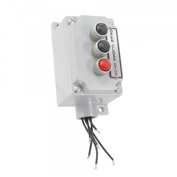 Explosion Proof Three Button Control Station Surface Mount - MMTC 3EBX