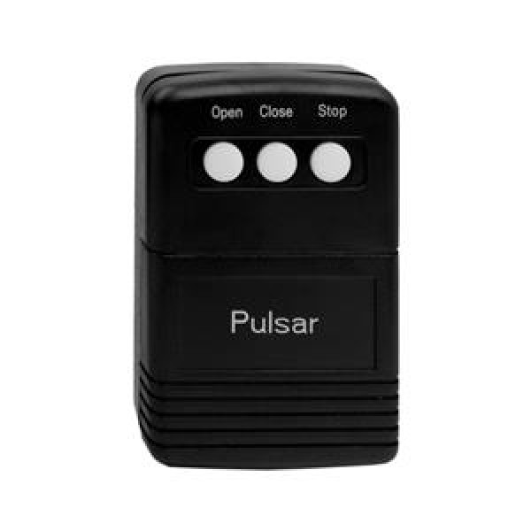 3 Button Transmitter, 318 MHz, Open/Close/Stop (1 Door) - Pulsar 8833T-OCS