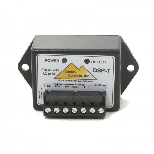 Microdetector for Safety Loop Detectors (AC or DC 10-30V)