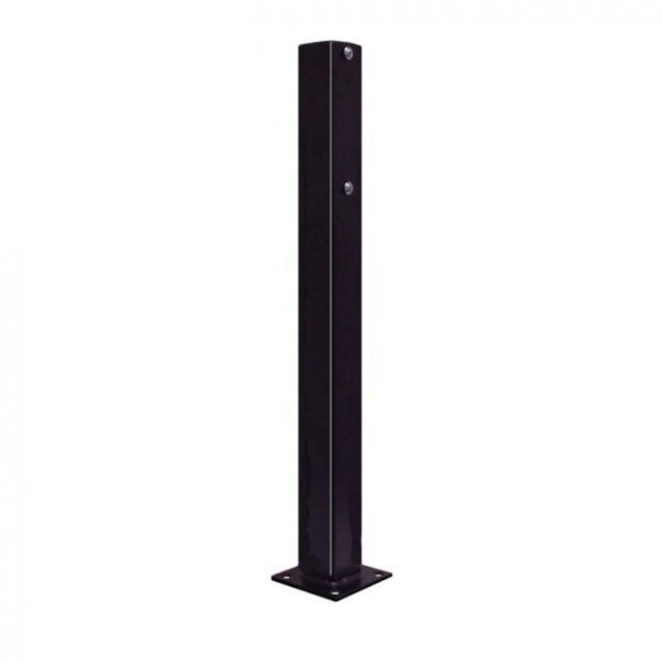 EMX 2' Black Mounting Post For Photo Eyes (Steel) - IRB-325-PT