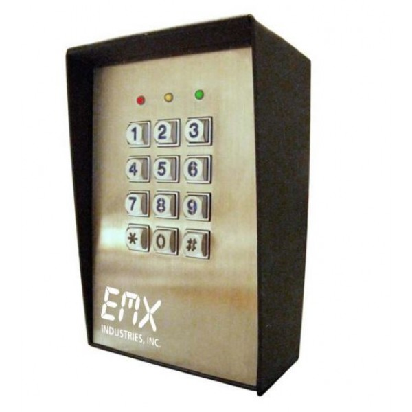EMX KPX-100 Keypad Secure Entry for Gates and Doors