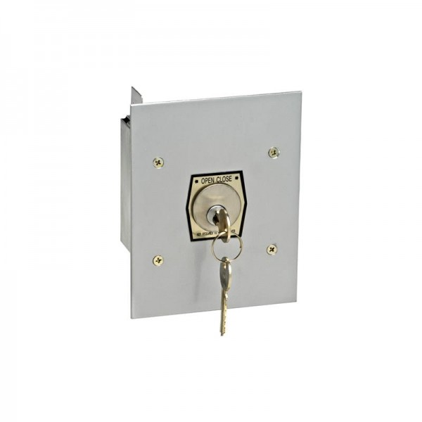 Exterior Open/Close Keyswitch w/ Mortise Cylinder - MMTC 1KF-X