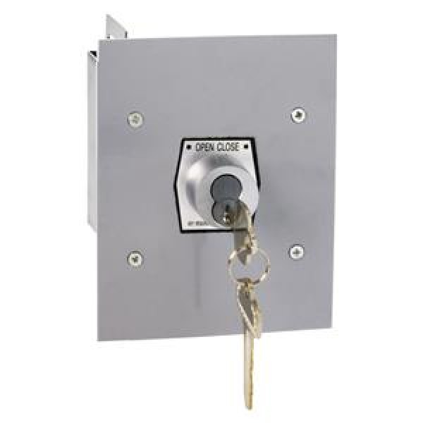 Exterior Open/Close Keyswitch w/ Best Core Cylinder - MMTC 1KFX-BC