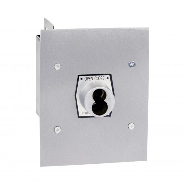 Exterior Open/Close Keyswitch S-Type w/ Large Format Cylinder - MMTC 1KFX-SLF