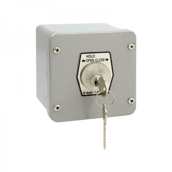 Exterior Surface Hold Open Keyswitch - MMTC 1KXL-O