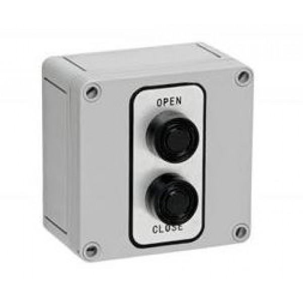 NEMA 4X Exterior Two Button Control Corrosive Resistant - MMTC 2B4X