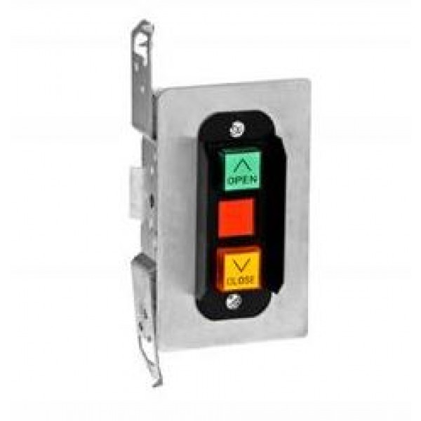 Interior Two Button Control Station Flush Mount - MMTC 2BF