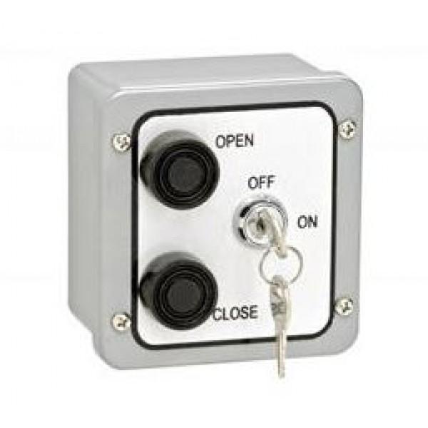 NEMA 4 Exterior Two Button Control w/ Lockout Surface Mount - MMTC 2BXL