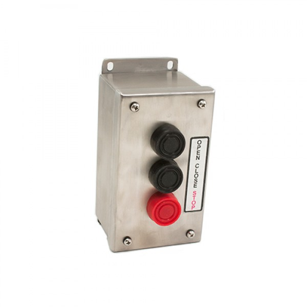 Three Button Control Stainless Steel Corrosive Resistant - MMTC 3B4X-SS
