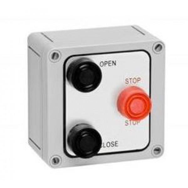 NEMA 4X Exterior Three Button Control Corrosive Resistant - MMTC 3B4X