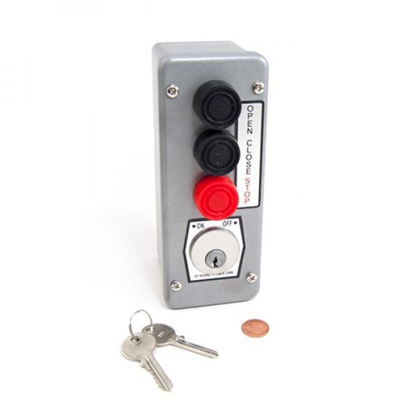 Three Button Control w/ Best Core Supplied & Installed - MMTC 3BLM-BC