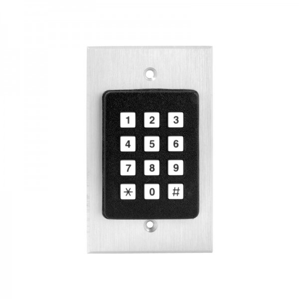 Commercial Digital Keyless Entry Flush Mount Keypad - MMTC ADV-100SG