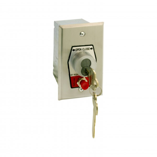 HBFSX Keyswitch w/ Best Core Cylinder and Stop Button - MMTC HBFSX-BC