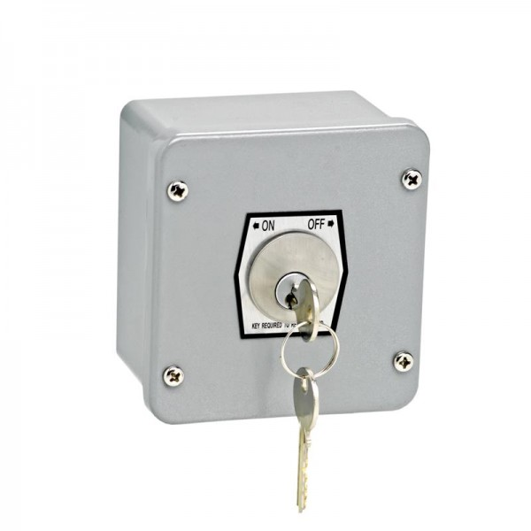 Exterior Surface Mount On-Off Keyswitch - MMTC 1KXL