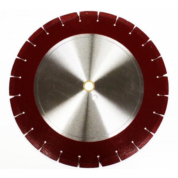 "Pro Diamond 14"" Diameter Blade with Depth Guide (Combo)"