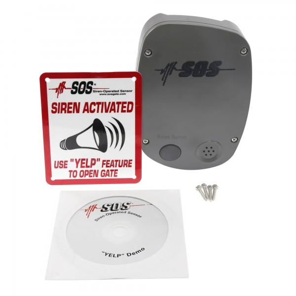 SOS12 Siren-Operated Sensor Emergency Access Vehicle Detector