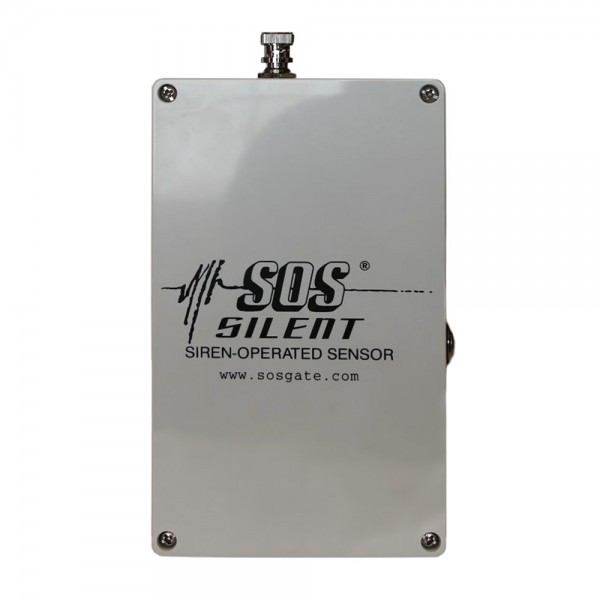 SOS SILENT Siren and RFID Operated Sensor Emergency Vehicle Detector