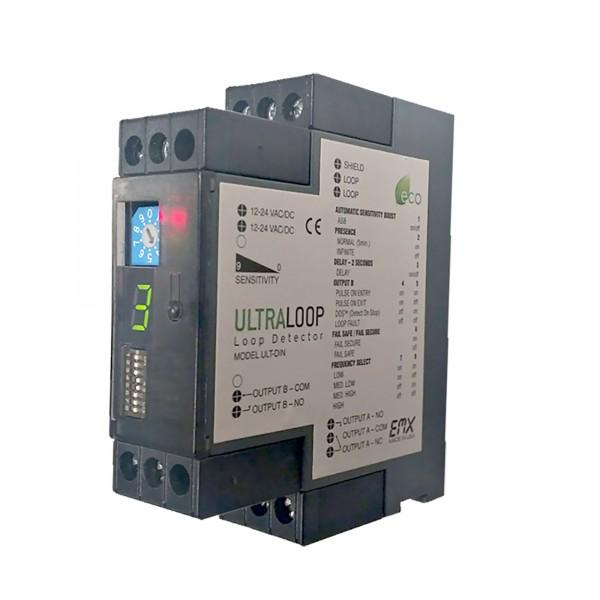 EMX UltraLoop Vehicle Loop Detector - ULT-DIN