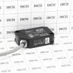 EMX UL325 Retro-Reflective Photo Eye 50' Range - NIR-50-325 (Grid Shown For Scale)