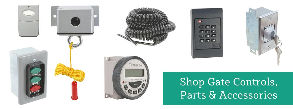 Shop Gate Controls, Parts & Accessories